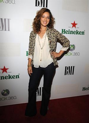 Vanessa Lengies BMI's 'Salute to Drake' 2011 VMA nomination celebration -- Hollywood, Aug. 26, 2011