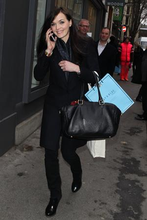 Victoria Pendleton in London - January 7, 2013