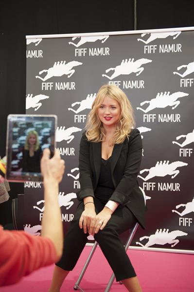 Virginie Efira 27th Namur Francophone Film Festival - Sept 29, 2012