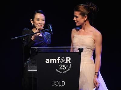Zhang Ziyi amfars Cinema Against AIDS Gala in Antibes France on May 19, 2011