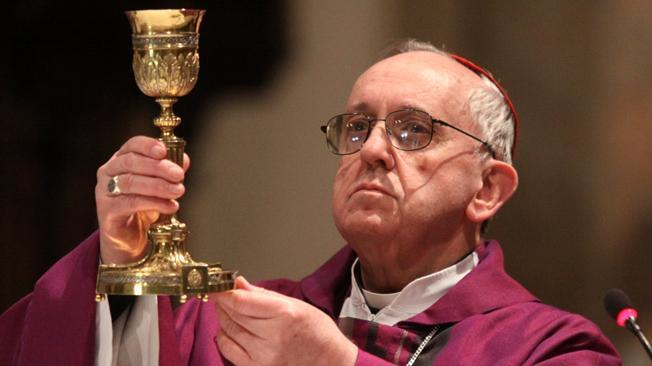 Jorge Bergoglio became the new Pope on March 13, 2013.  He choose the name Francis.  He is the first Pope from the Americas (Argentina to be exact)