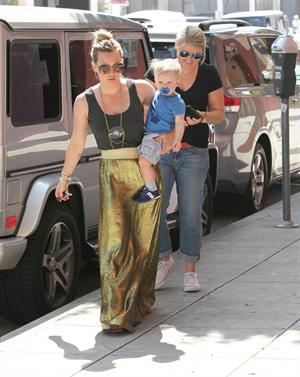 Hilary Duff out and about in Hollywood 3/15/13