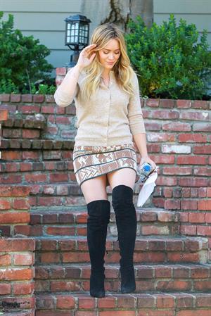 Hilary Duff in Beverly Hills 10/10/13