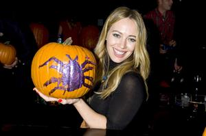 Hilary Duff – Just Jared Halloween Party 10/24/13
