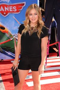 Hilary Duff  Planes  Los Angeles Premiere -- Hollywood, Aug. 5, 2013