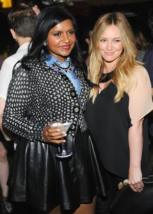 Hilary Duff - The Hollywood Reporter celebrates 'The Mindy Project' in West Hollywood on August 25, 2012