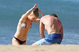 Ireland Baldwin bikinis at beach in Maui 10/21/12