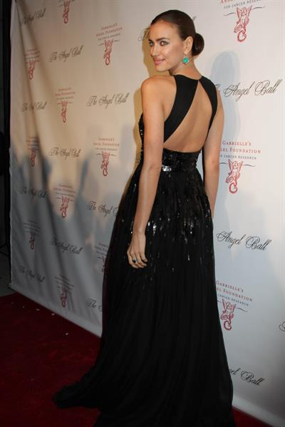 Irina Shayk - 2012 Angel Ball In New York October 22, 2012