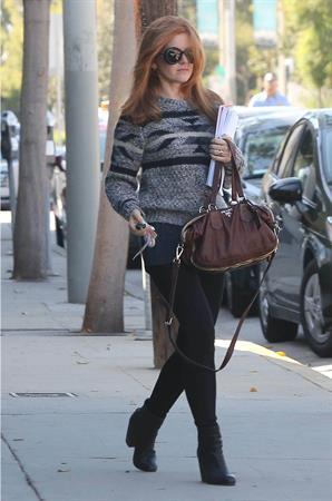 Isla Fisher Goes to Benjamin Beauty Salon in LA - October 10, 2012