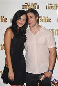 Jacqueline Jossa - The Man Inside UK film premiere at the Vue Leicester Square on July 24, 2012 in London, England