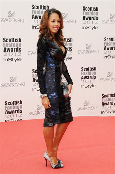 Jade Ewan (Sugababes) - Scottish Fashion Awards 2012 in Glasgow (June 11, 2012)