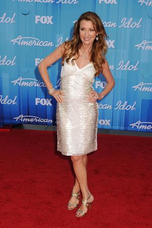 Jane Seymour - May 23, 2012 American Idol Season 11 Finale at Nokia Theatre in Los Angeles