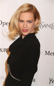 January Jones Metropolitan Opera Gala Premiere of Manon in New York on March 26, 2012
