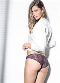 Mathilde Gøhler in lingerie - ass