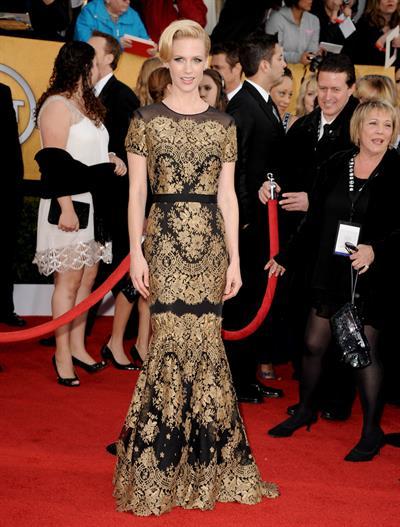 January Jones 17th annual Screen Actors Guild Awards on January 1, 2011