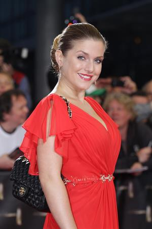 Jeanette Biedermann U 30Verleihung Deutscher Fernsehpreis in Köln on October 2, 2012