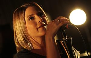 Jeanette Biedermann - Showcase with her new Band 'Ewig' in Berlin on August 23, 2012