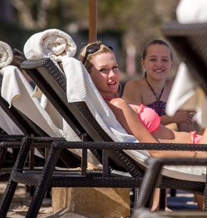 Jennie Garth bikini candids in Puerto Vallarta 3/26/13