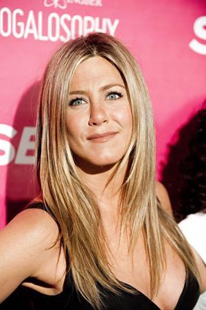 Jennifer Aniston SELF Magazine celebrates 'Yogalosophy in Los Angeles on April 30, 2013