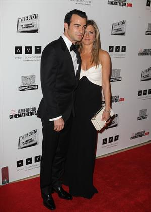 Jennifer Aniston 26th American Cinematheque Award Gala honoring Ben Stiller (November 15, 2012)