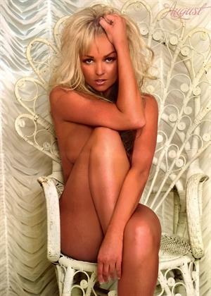 Jennifer Ellison image scans from 2009 calendar