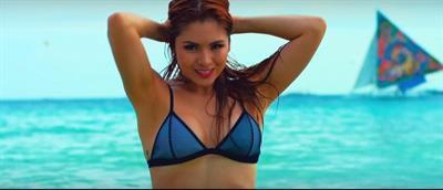 Ashley Rivera in a bikini