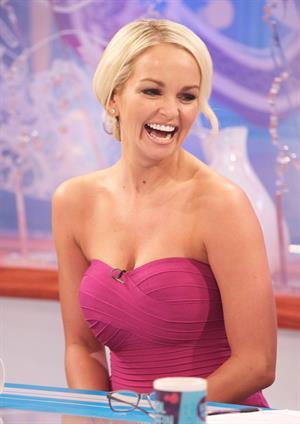 Jennifer Ellison loose women appearance at ITV studios 90112