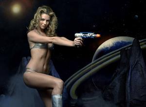 Jennifer Hawkins at Tom Holland Photoshoots