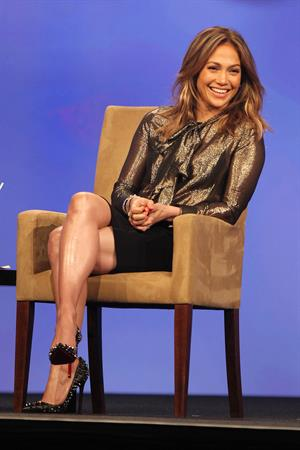 Jennifer Lopez The final day of The Cable Show in Washington on June 12, 2013