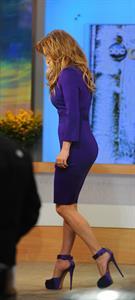 Jennifer Lopez Good Morning America in New York City on January 22, 2013