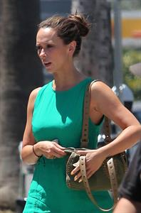 Jennifer Love Hewitt - Out and about candids in Los Angeles, May 29, 2012