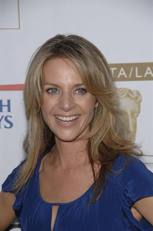 Jessalyn Gilsig BAFTA's 7th Annual Tea Party at the Intercontinental Hotel in LA September 19, 2009