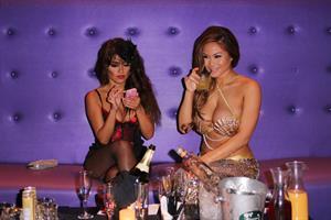 Jessica Burciaga - Halloween Party At Cafe Entourage November 1, 2012