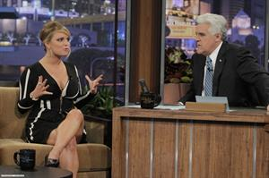 Jessica Simpson on The Tonight Show with Jay Leno on April 27, 2010