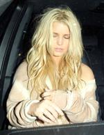 Jessica Simpson leaving photo shoot in Hollywood on January 24, 2011