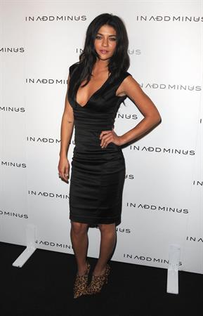 Jessica Szohr in Add Minus Grand Store Opening on November 18, 2010
