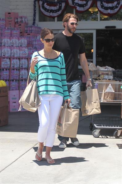 Jordana Brewster - Bristol Farms in Hollywood - July 7, 2012