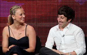 Kaley Cuoco the Big Bang Theory panel during 2010 Summer TCA Tour on July 28, 2010