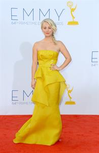Kaley Cuoco - 64th Primetime Emmy Awards LA on September 23, 2012