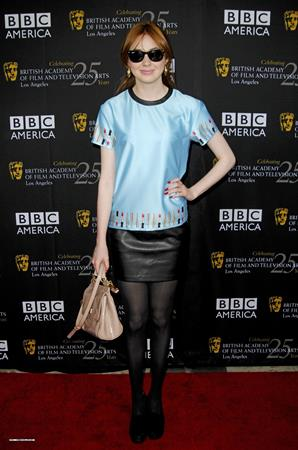 Karen Gillan FST BAFTA LA TV in Hollywood - September 22, 2012
