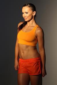Karina Smirnoff Women's Running Magazine's Cover shoot in L.A. - Jan 8, 2013