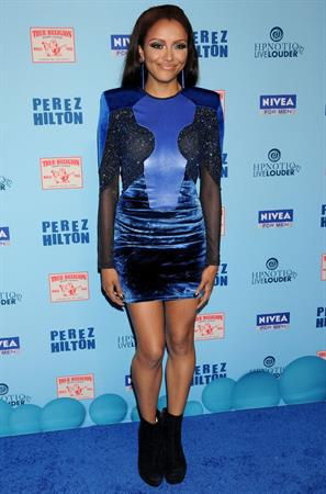 Katerina Graham Perez Hilton Blue Ball birthday party in Hollywood on March 26, 2011