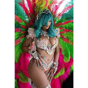 Rihanna Strips Down to Bikini for Barbados Parade