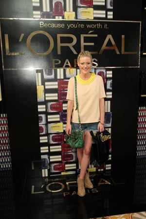 Kathleen Robertson HBO Luxury Lounge In Honor Of The 64th Primetime Emmy Awards (September 22, 2012)