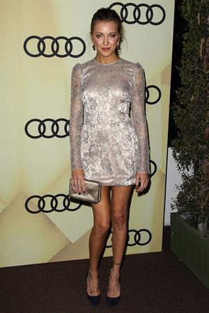 Katie Cassidy Audi Kicks Off Golden Globes Week 2013 (Jan 6, 2013)