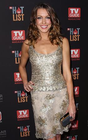 Katie Cassidy TV Guide Magazine's Hot List Party at Skybar at the Mondrian Hotel in West Hollywood - Nov 12, 2012