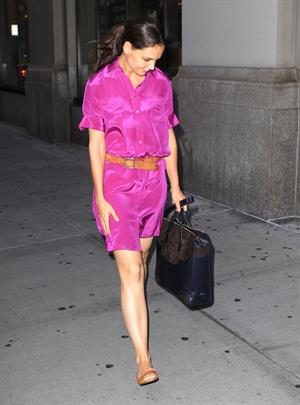 Katie Holmes in New York - September 14, 2012
