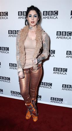 Kat Von D BBC America Premiere Screening Of BWild Things With Dominic Monaghan Jan 9, 2013