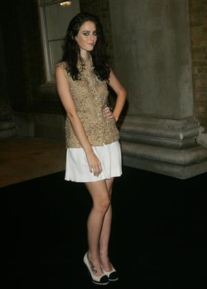 Kaya Scodelario The little Black Jacket Private View in London - October 11, 2012
