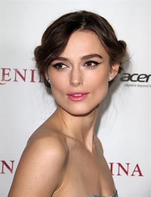 Keira Knightley 'Anna Karenina' premiere in Los Angeles 11/14/12